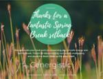 Spring setback poster